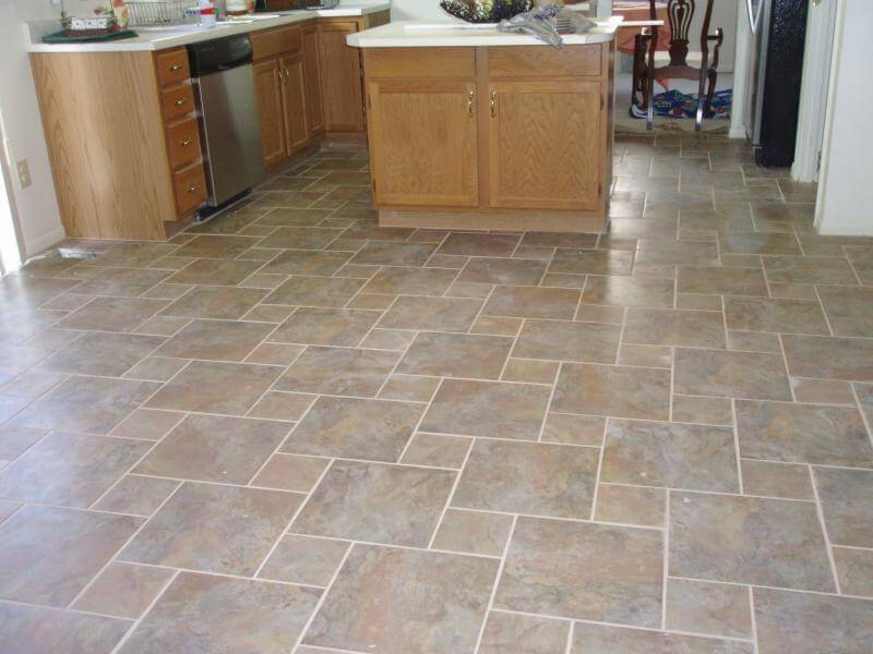 kitchen tile floor